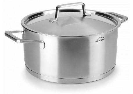 Foodie Kookpot 24 cm 5l met Deksel - Lacor