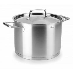 Foodie Kookpaan Hoog 24 cm 7l met Deksel - Lacor