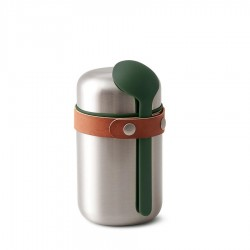 Lunch Box Isotherme Inox Olive 400 ml - Black+Blum