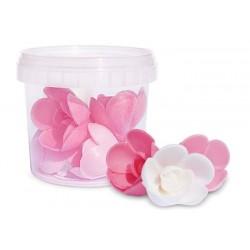 Déco Fleurs Azyme 6 Roses - Scrapcooking