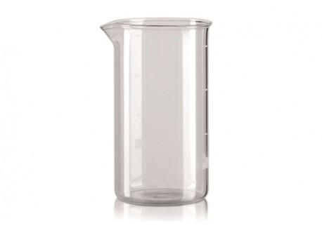 bialetti verre de rechange pour cafeti re piston. Black Bedroom Furniture Sets. Home Design Ideas