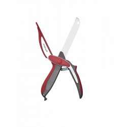 Slice'n'Cut Ciseaux Couteau Coupe Express Rouge  - Mastrad
