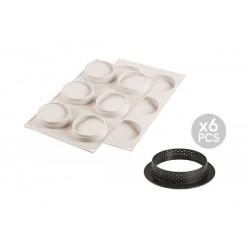 Kit Mini Tarte Glam Moule 3D  - Silikomart