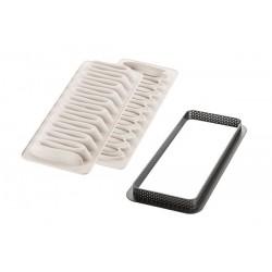 Kit Nieuw Wave Taart 3D Bakvorm  - Silikomart