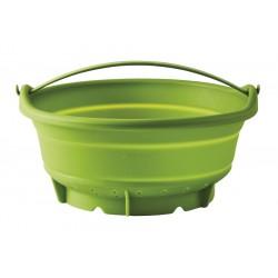 Passoire Vapeur en Silicone Vert 24 cm  - Mastrad