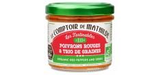 Tartinable Bio Poivrons Rouges et trio de graines