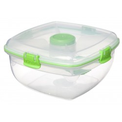 To Go Saladbox + Dressingcompartiment en Bestek 1.63 l - Sistema