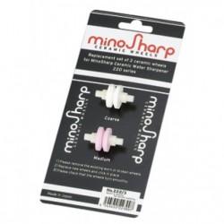 Minosharp Roulettes de Remplacement 2 pcs  - Global