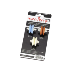 Minosharp Roulettes de Remplacement 3 pcs  - Global