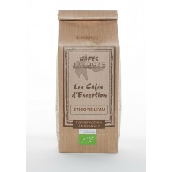Café en Grains Bio Ethiopie Limu Organique 500 g  - Cafés Looze