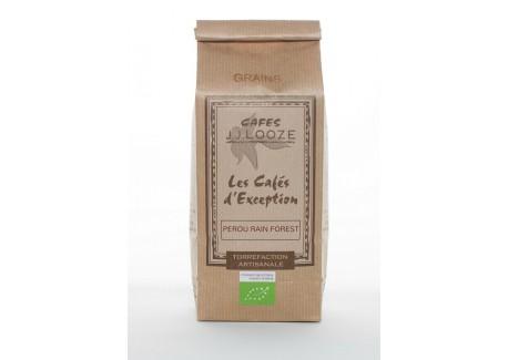 Café en Grains Bio Pérou Organique 250 g  - Cafés Looze