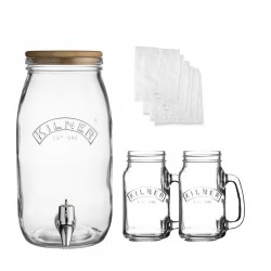 Kombucha Thee Set - Kilner