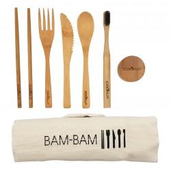 Bam Bam Set de Couverts en Bambou 7 pces  - Cookut