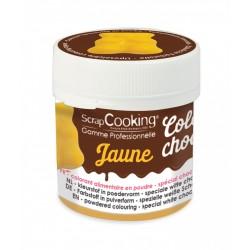 Colorant Alimentaire Chocolat Jaune 5 g  - Scrapcooking