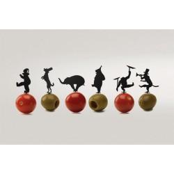 Circus Pick Piques Apéritif 18 pièces  - Monkey Business