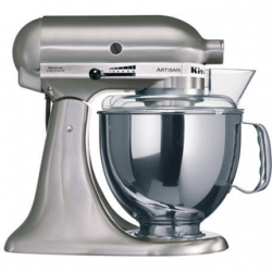 Robot Artisan 5KSM175 Nickel Brossé - KitchenAid