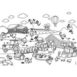 Placemat Pad Kids Fun 4x12 pièces  - Trendform