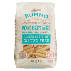 Penne Rigate n° 66 Glutenvrij 400 g - Rummo