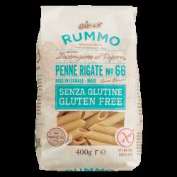 Penne Rigate n° 66 Sans Gluten 400 g - Rummo