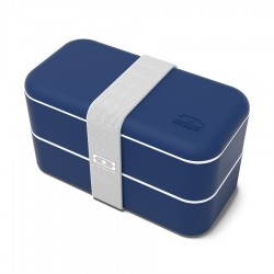 Original Bento LunchBox Made in France Navy Blauw - MonBento