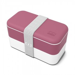 Original Bento LunchBox Made in France Rose Blush - MonBento