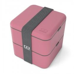 Square Bento LunchBox Roze Blush  - MonBento