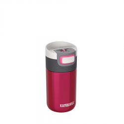 Etna Travel Mug Isotherme Hermétique 300 ml Rose Framboise  - Kambukka