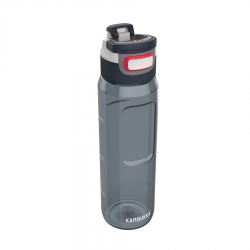 Elton Waterfles 3-in-1 Lid 1 l Graphite Grijs  - Kambukka