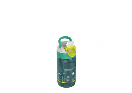 Lagoon Kids Waterfles Spout Lid 400 ml Urban Dino  - Kambukka