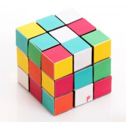 Pixcake Cake Decoraties Rubik's Kubus  - Silikomart