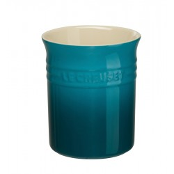 Pot à Ustensiles Bleu Deep Teal  - Le Creuset