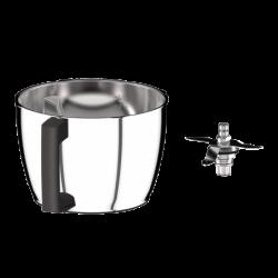 Rvs Kuip met Universeel Mes voor Cook Expert - Magimix