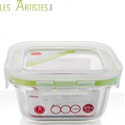 Vierkante Bewaardozen  320ml - Les Artistes