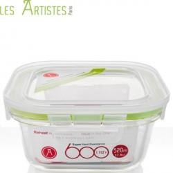 Vierkante Bewaardozen 520ml - Les Artistes
