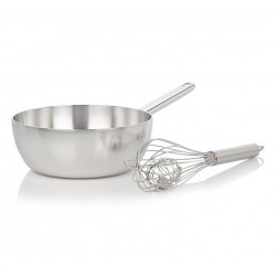 Apollo Sauteuse Conique 20 cm + Fouet Duo Gift Set - Demeyere