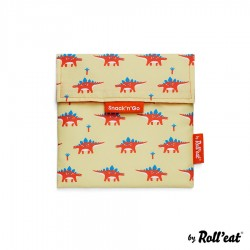 Sac à Collation Snack n Go Kids Dinosaure  - Roll Eat