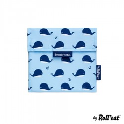 Sac à Collation Snack n Go Kids Baleine  - Roll Eat
