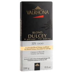Chocolat Blond Dulcey 32% Tablette 250 g  - Valrhona