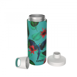 Reno Insulated Waterfles Twist Lid 500 ml Parrots  - Kambukka