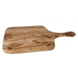 Pizzabord met Handvat Olijfhout 52 cm - Cosy Trendy