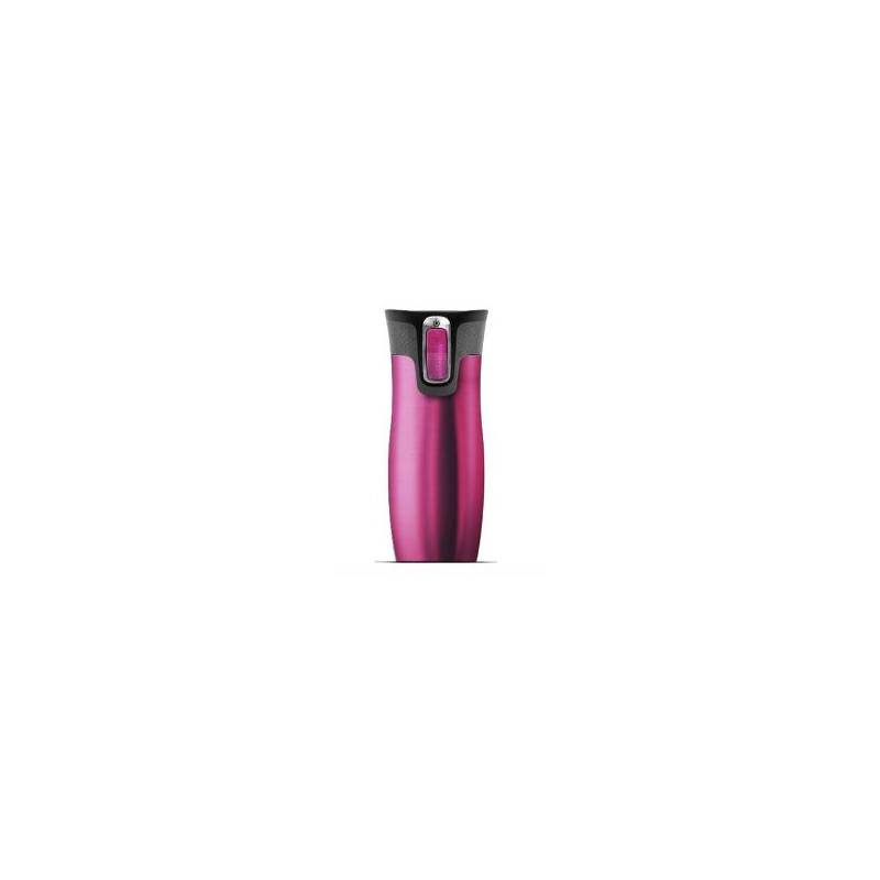 contigo westloop travel mug herm tique double paroi 470ml rose les secrets du chef. Black Bedroom Furniture Sets. Home Design Ideas