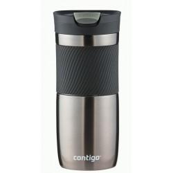 Byron Travel Mug Hermétique Double Paroi 470ml Gris  - Contigo
