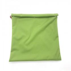 Herbruikbare Vrieszak Medium Groen 27 x 24 cm  - Flax - Stitch