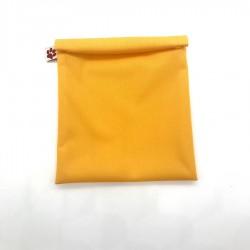 Herbruikbare Vrieszak Small Geel 20 x 15 cm  - Flax - Stitch