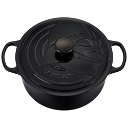 Signature Ronde Braad-/ stoofpan Darth Vader Star Wars Limited Edition 5,3 l - Le Creuset