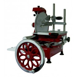 Trancheuse Manuelle Retro Flywheel 30 Rouge