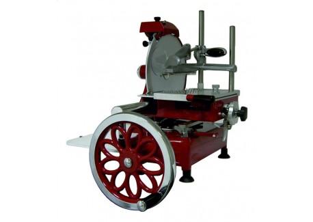 Trancheuse Manuelle Retro Flywheel 30 Rouge  - I-RON