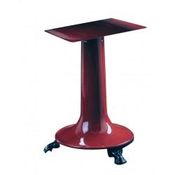 Voet voor Manuele Snijmachine Flywheel 30 Rood