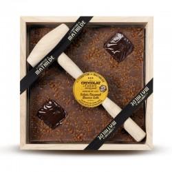 Melk Chocolade met toffees en Hamer 400 g - Comptoir de Mathilde