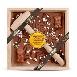Melk Chocolade Marshmallow met Hamer 400 g